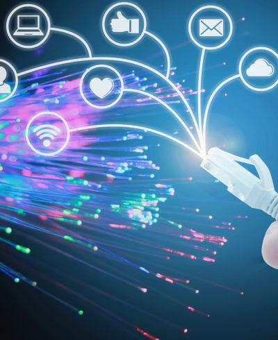Glasfaser ist heute die Basis des Internets und auch die nachhaltige Infrastruktur für die kommenden Jahre